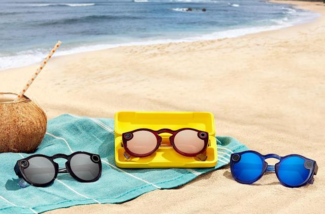 Snap now sells its second-gen Spectacles on Amazon