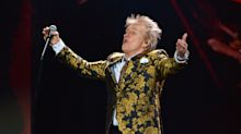 Sir Rod Stewart arrested and charged for punching security guard at US hotel