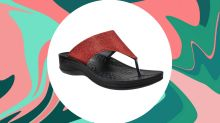 'These are great!': These stylish orthopedic flip flops will keep your feet happy for only $34