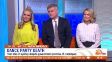 Sunrise News Feed: Dance party overdoses, Santa pageant fine and James Bond's alcoholism