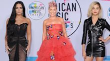 All the best AMA red carpet looks