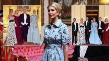 Cuatro de los hijos de Trump asistieron al banquete real en el Palacio de Buckingham