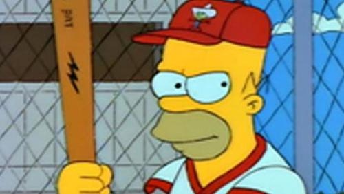 Say hello to baseball's new Hall of Famer, Homer Simpson. (The Simpsons)