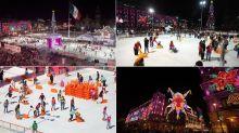 FOTOS: Así es la pista de hielo del Zócalo de la CDMX