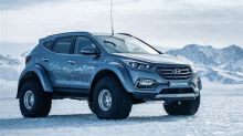 This Badass, Popular Hyundai Model is the First to Conquer Antarctica