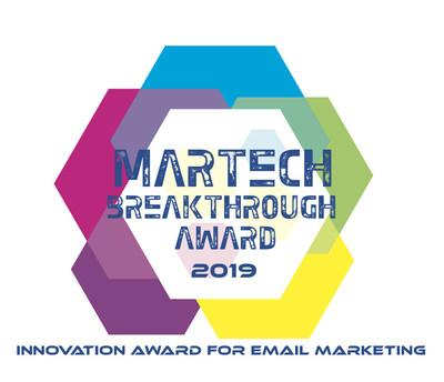 LiveIntent Recognized for MarTech Innovation in 2019 MarTech Breakthrough Awards Program