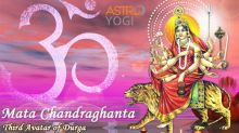 Third Day of Navratri - Worshipping Goddess Chandraghanta