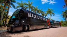 Draymond Green questions why Raptors put Black Lives Matter on team bus