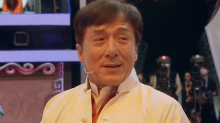 Jackie Chan Tears Up During Emotional Tribute