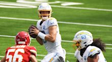 """Justin Herbert's first NFL career start solidified not """"if"""" but """"when"""" he will take over in Los Angeles"""