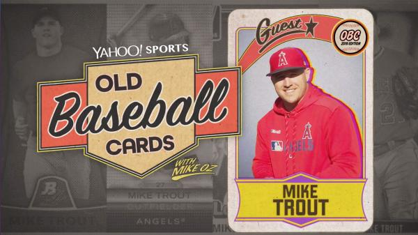Old Baseball Cards Mike Trout Talks About Ichiro Rickey