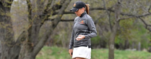 Iowa State star golfer Celia Barquin Arozamena was found dead on a golf course in Ames, Iowa, on Monday morning. (Photo courtesy Iowa State Daily)
