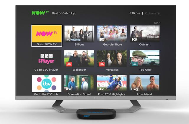 Sky adds offline viewing to Now TV app for iOS and Android (update)