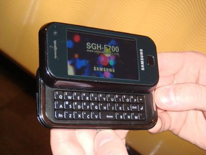 Hands-on (again) with the ultra-everything Samsung F700