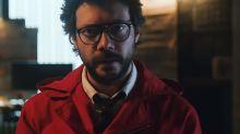 O professor está de volta em novo teaser da 3ª temporada de 'La Casa de Papel'