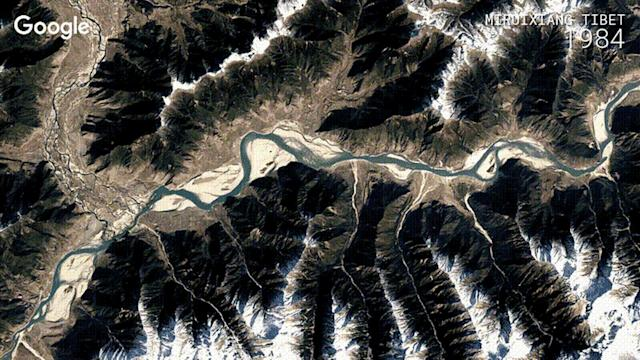 Google timelapses offer a 32-year look at Earth's history