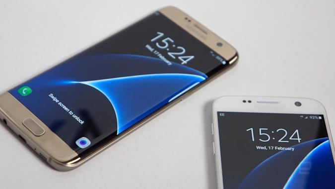 Samsung Galaxy S7 y S7 Edge: Músculo y en traje de baño