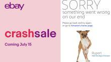 Crash Sale vs. Prime Day: Ebay verspottet Amazon