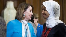 Ilhan Omar and Nancy Pelosi join forces in Africa after 'send her back' chants
