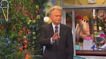 Pat Sajak jokingly chastises another contestant but some 'Wheel of Fortune' fans aren't laughing