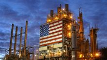 Gasoline futures end at 4-month high as U.S. inventories drop; U.S. oil benchmark falls