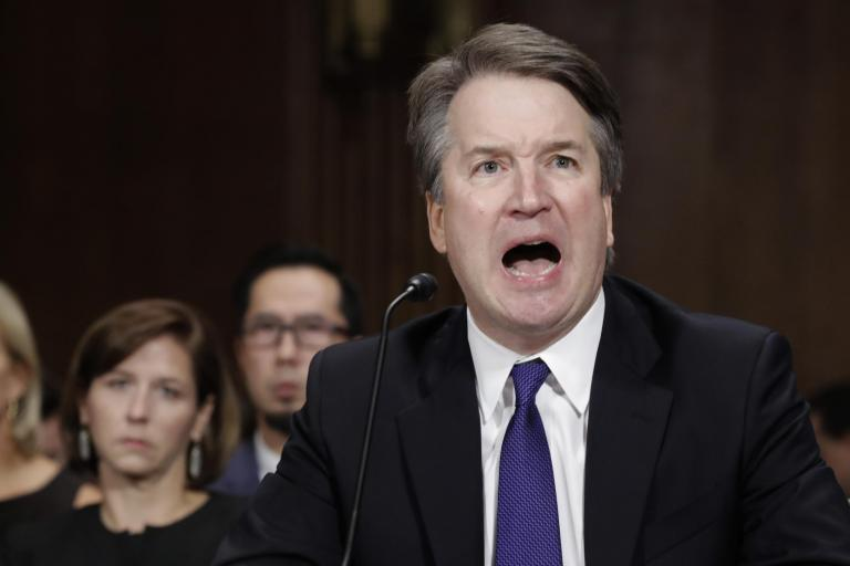 What happens to Brett Kavanaugh's Supreme Court nomination if senate committee votes 'no'?