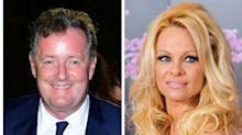 Pamela Anderson and Piers Morgan argue over whether vegans have better sex