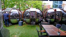 Birmingham restaurant serves diners in 'bubbles'