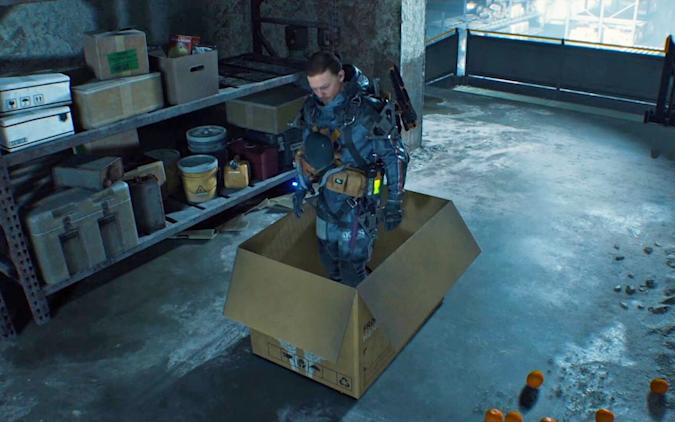 A promotional screenshot from the video game Death Stranding.