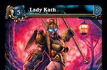 """WoW TCG Card """"Lady Kath"""" honors mother with brain cancer"""