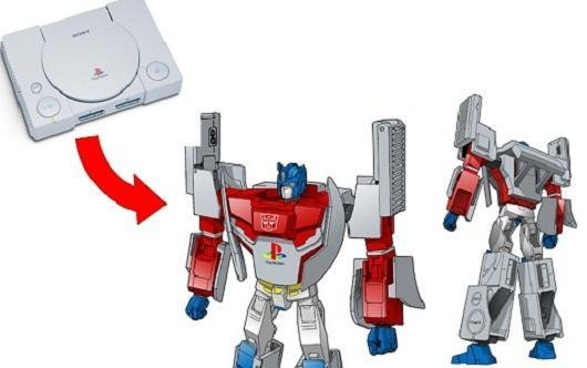 Takara Tomy imagines PlayStation as Optimus Prime in disguise