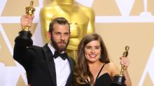 Rachel Shenton shines at Oscars 2018: Ex Hollyoaks star wins with The Silent Child and gives acceptance speech in sign language