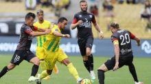 Foot - L1 - Ligue1: Nantes gagne à neuf face à Nîmes, Bordeaux s'impose à Angers