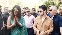 It's a wrap on Nickyanka's wedding as the couple leave Jodhpur