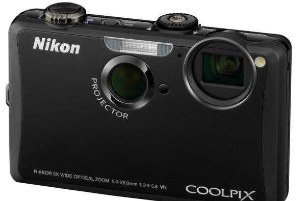 Nikon Coolpix S1100pj projector cam arrives with USB projection and touchscreen telestrator capabilities; S5100 arrives in tow