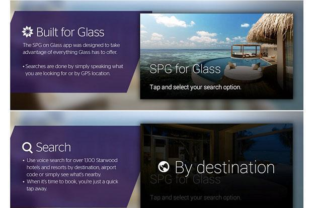 Starwood's app for Google Glass will let you search and book hotels