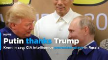 Kremlin says Putin thanked Trump for CIA tip on bombings