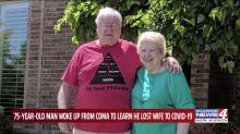 Un hombre descubrió que su esposa murió por el coronavirus tras despertar de un coma de 99 días por el COVID-19