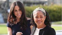 La madre de Meghan Markle la apoyará en su primer acto en solitario