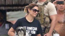 Primeira-dama Michelle Bolsonaro faz propaganda de petshop em perfil oficial no Instagram
