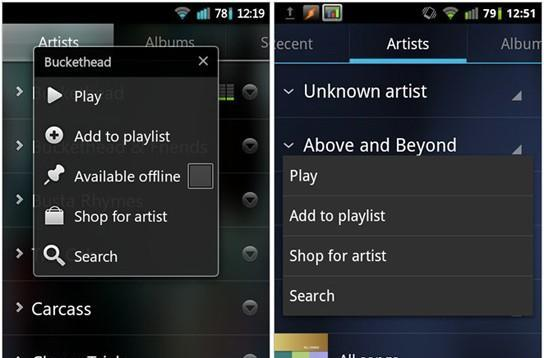 Ice Cream Sandwich leak outs Music 4.0.1 for download, previews Google+ 2.0