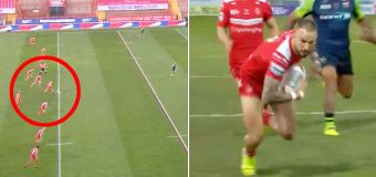 Never-before-seen act stuns rugby league world