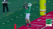 Marshall player shotguns football like a beer