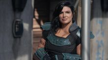 Gina Carano says shock 'Mandalorian' finale cameo wasn't even in the script