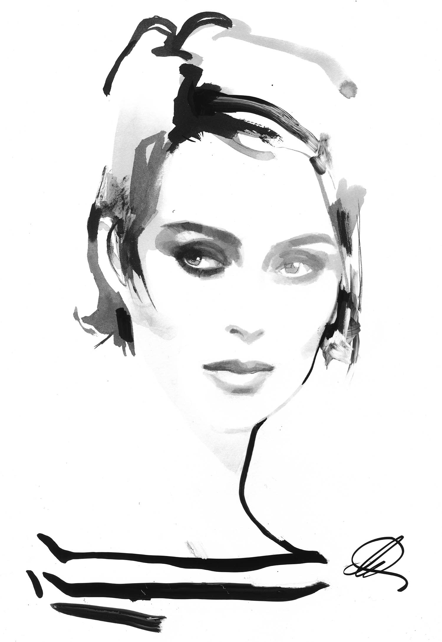 Michael Kors joins forces with artist David Downton for