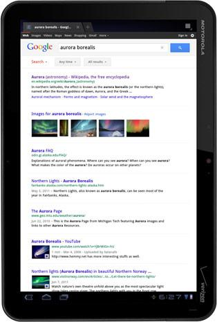 Google refines search experience for big-fingered tablet owners