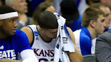 Top-seeded Jayhawks just can't shake their Elite Eight blues