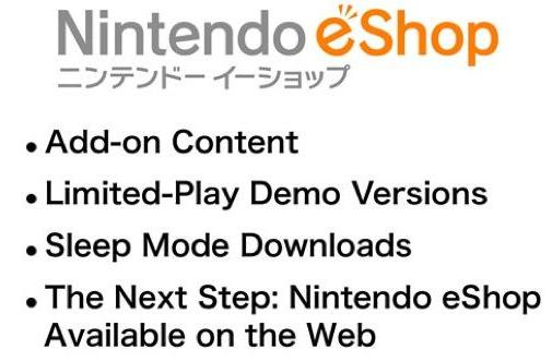Nintendo's eShop plans: premium DLC, game demos, smartphone shopping, relevancy