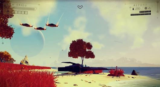No Man's Sky is a sci-fi exploration roguelike in a consistent universe