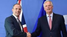 New Brexit Secretary Dominic Raab calls for 'renewed vigour' in Brussels negotiations